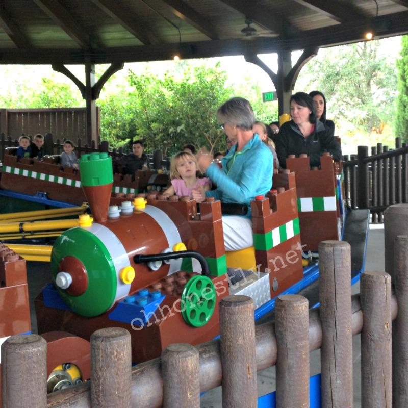Legoland Florida Merlin's Challenge Ride