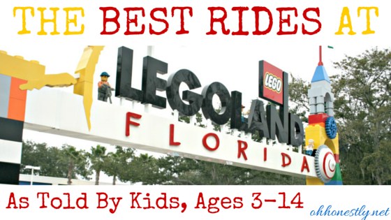 Legoland Florida, Kids review the best rides