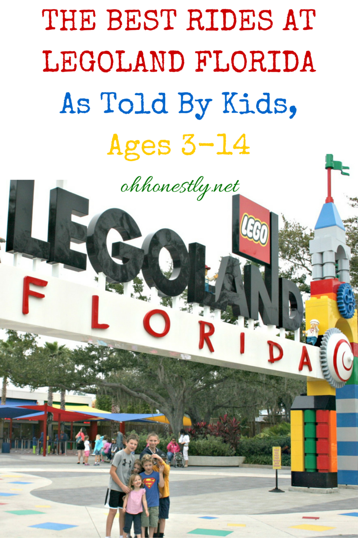 Legoland Florida, kids review the rides