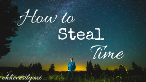 How to Steal Time