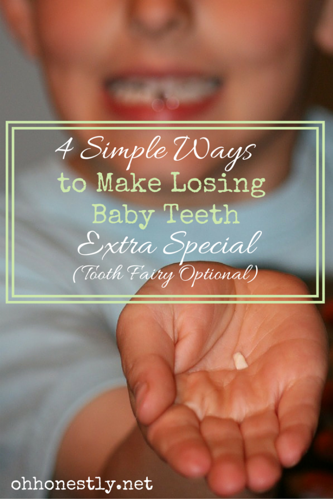 Fun ways to celebrate losing baby teeth.