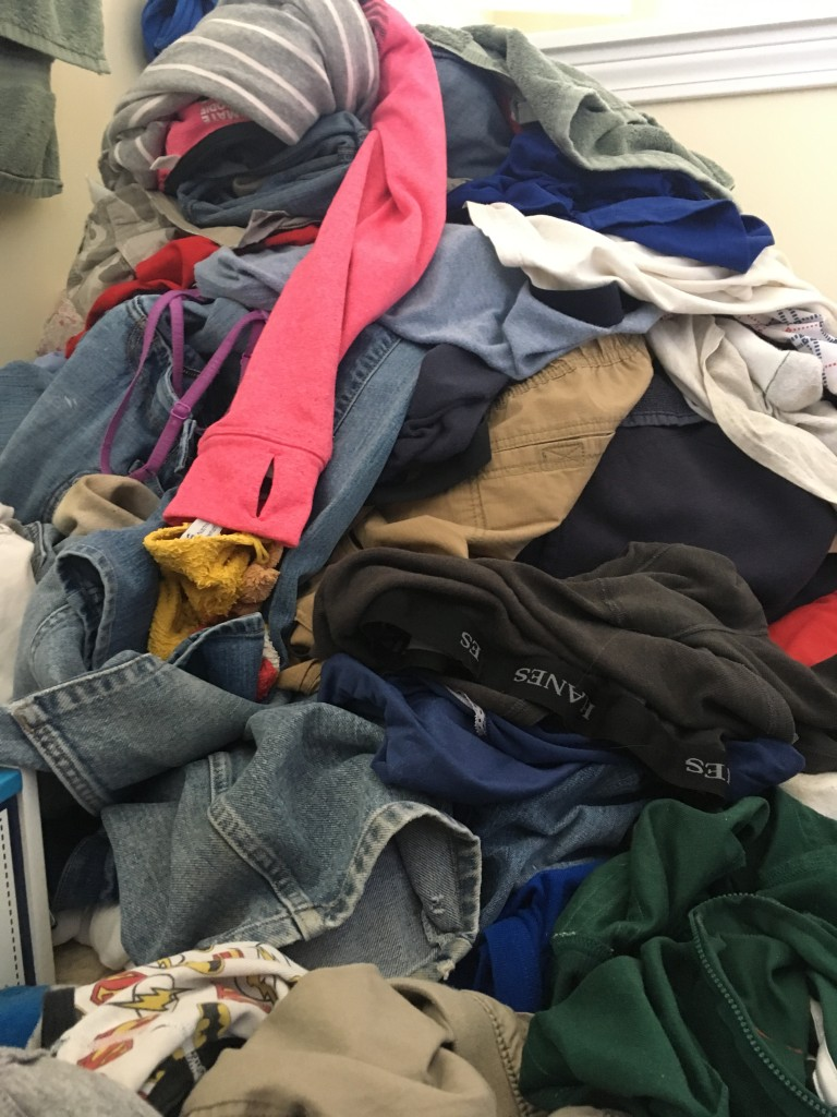 the laundry might eat you