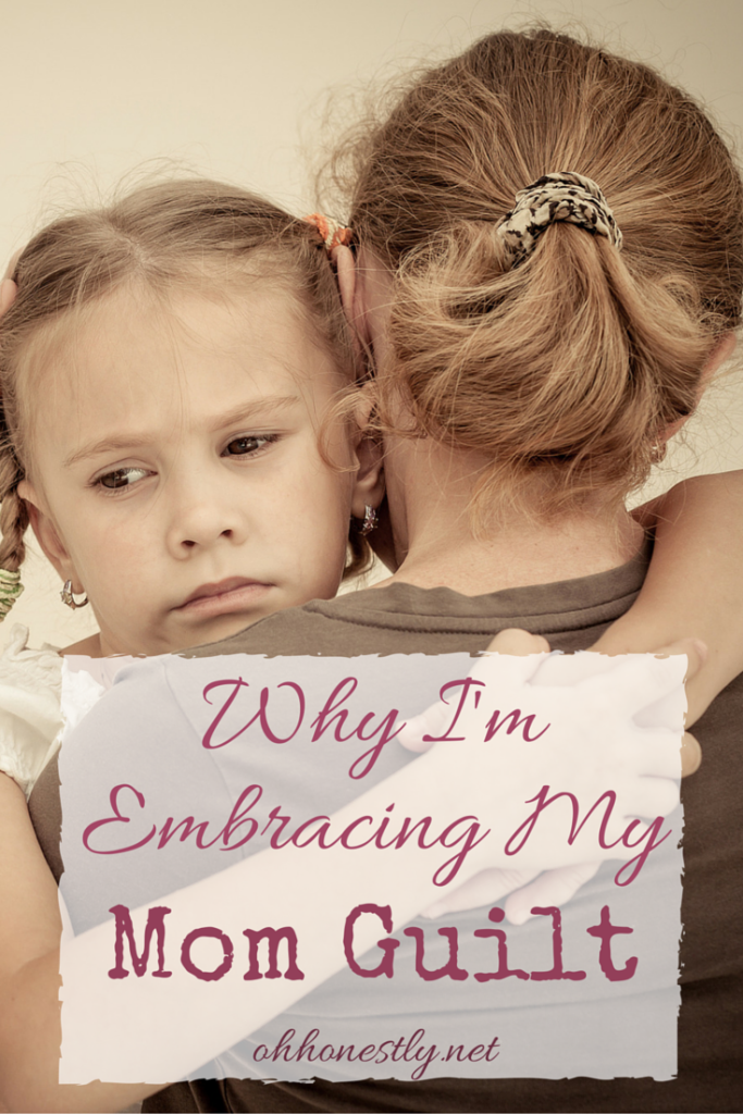 Stop fighting mom guilt and embrace it instead. Here's why: