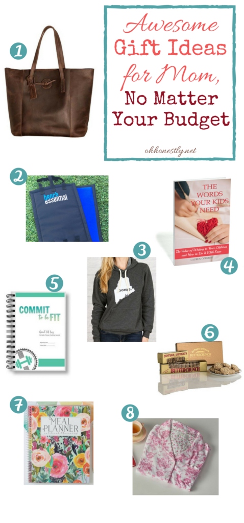 Not sure what to get mom for the holidays? Or maybe you ARE the mom and need to drop some hints about what you really want. Look no further! This holiday gift guide has something for every mom and something for any gift buyer's budget! You'll love these awesome gift ideas for mom!
