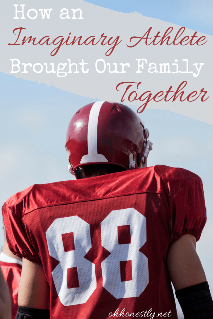 Do your kids have different interests? Feel like you're always pulled in different directions? Here's how a simple game had a surprising result in bringing our family closer together. #ad