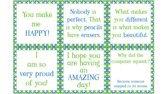image relating to Printable Lunchbox Notes identify Free of charge Printable Lunchbox Notes for the Thirty day period of March