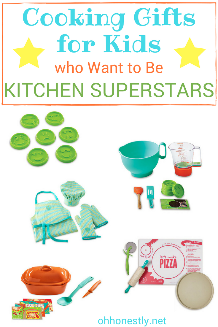 Looking for awesome cooking gifts for kids? If your child loves to cook and bake, you'll find everything you need to make their next birthday or holiday gift a hit!