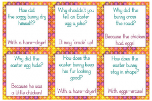 Free Printable April Lunchbox Notes