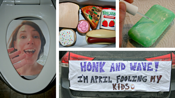 Before you decide what April Fools' pranks to play on your kids, check this out! These ones have been tried and graded on how well they worked!