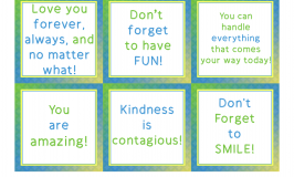 A Month's Worth of Fun and Free Lunchbox Notes for May