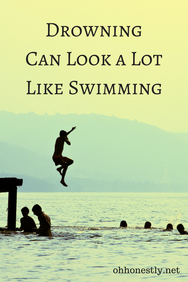 It's easy to let your guard down when your family is having fun at the lake, pond, or pool. But remember that drowning doesn't always look like drowning. Sometimes it looks a lot like swimming.