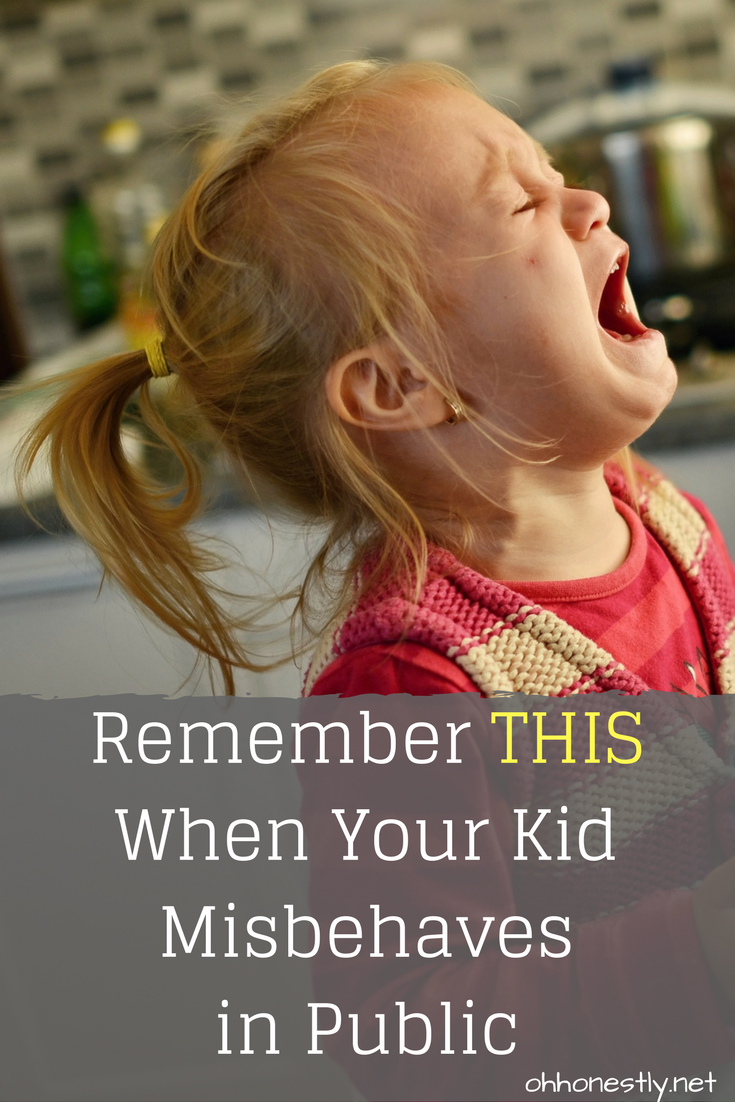 After a difficult and embarrassing public moment with her child, a mom reflects on what she can do differently when her child misbehaves in public.