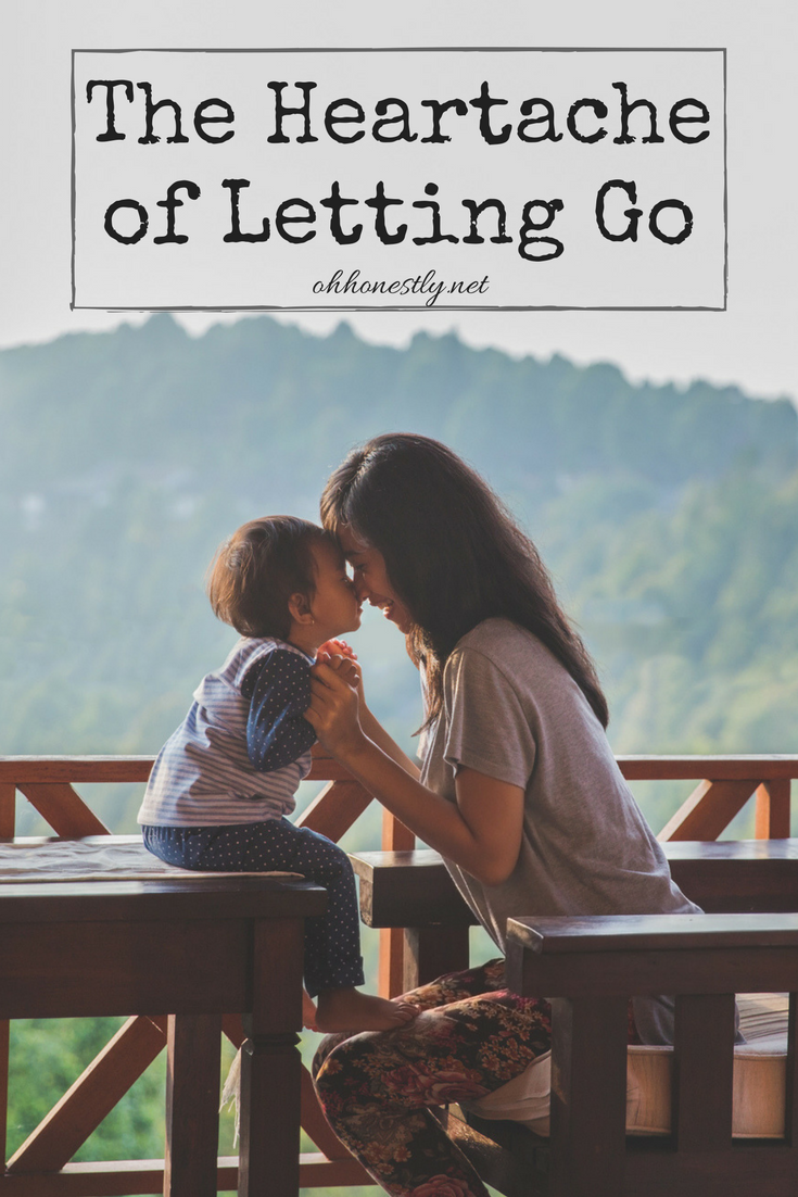 Letting go of our children is never easy, but there comes a time in every child's life that they must grow up and away.