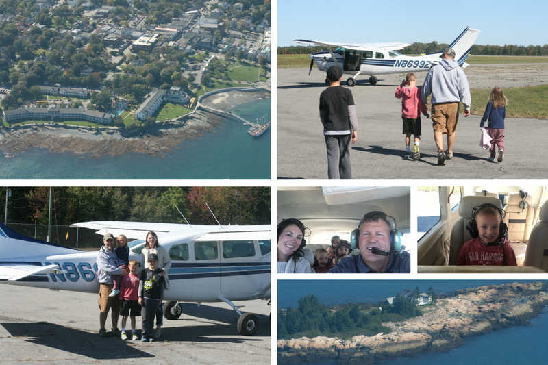 scenic flights of acadia- one month in a year of experience gifts