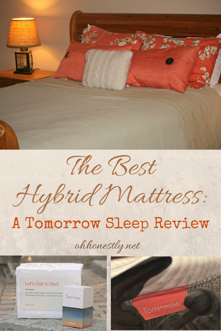 If you're in the market for a new mattress, you have a lot of choices. Two parents of three tested out a memory foam hybrid mattress. Here's what they thought.