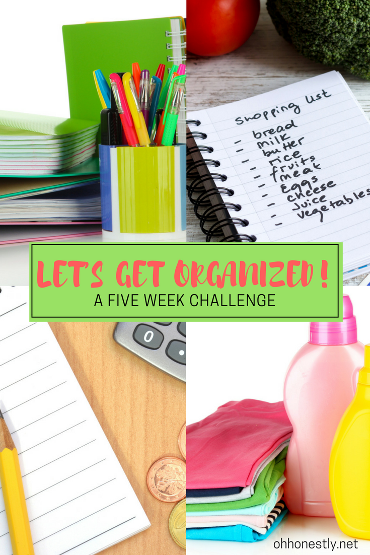 Want to get organized, but don't have the time for 31 days of extra tasks? Join this challenge to help make your life SIMPLER!