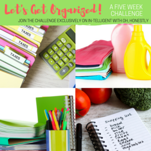 Let's Get Organized: A Five Week Challenge