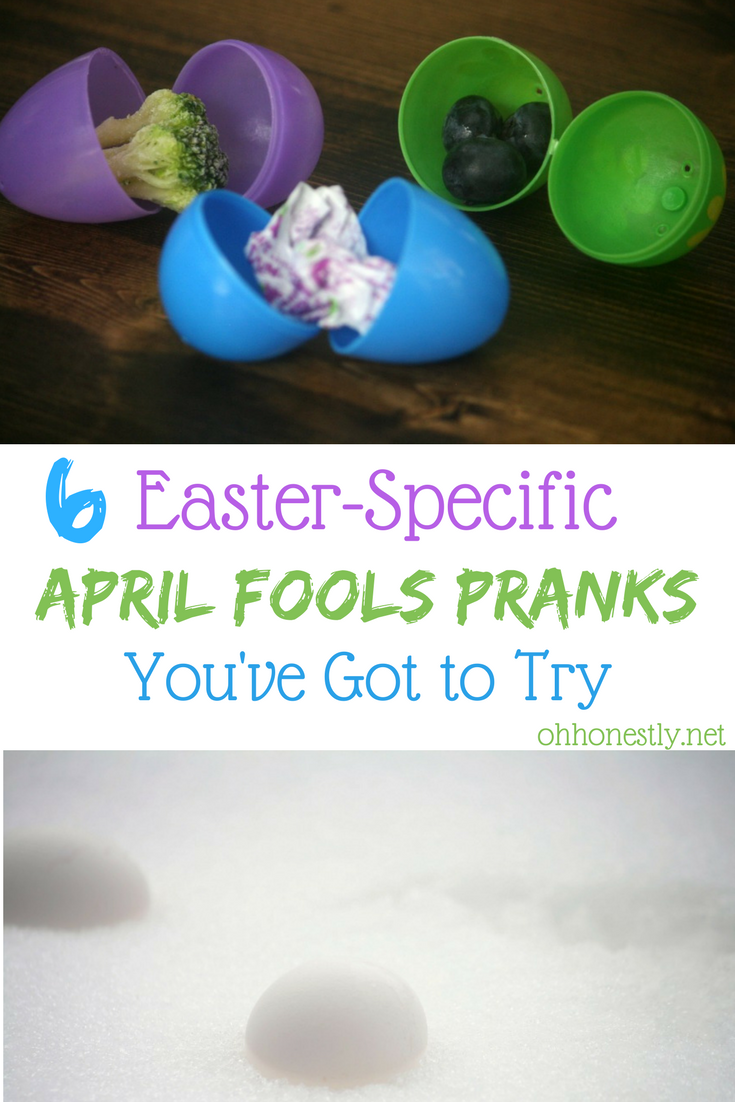 Six easter specific april fools pranks youve got to try april fools day is my holiday i dont do much for valentines day i dont do anything for st patricks day but when april 1st rolls around negle Choice Image