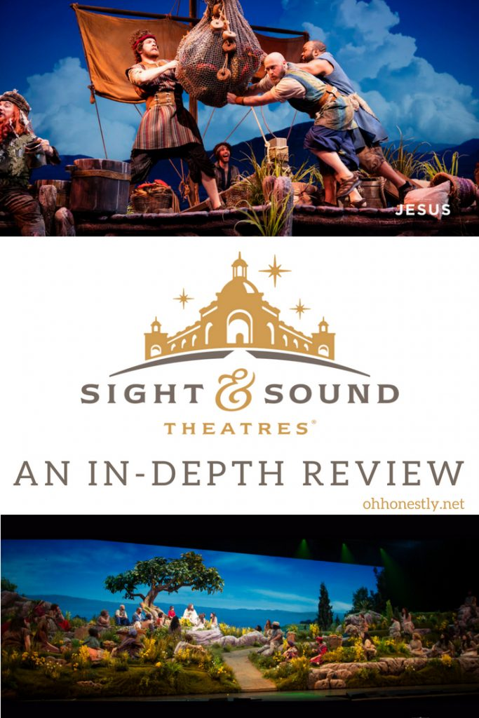 An in-depth review of Sight and Sound Theatres' production of Jesus by a mom who took her three kids (ages 6-10) to the show.