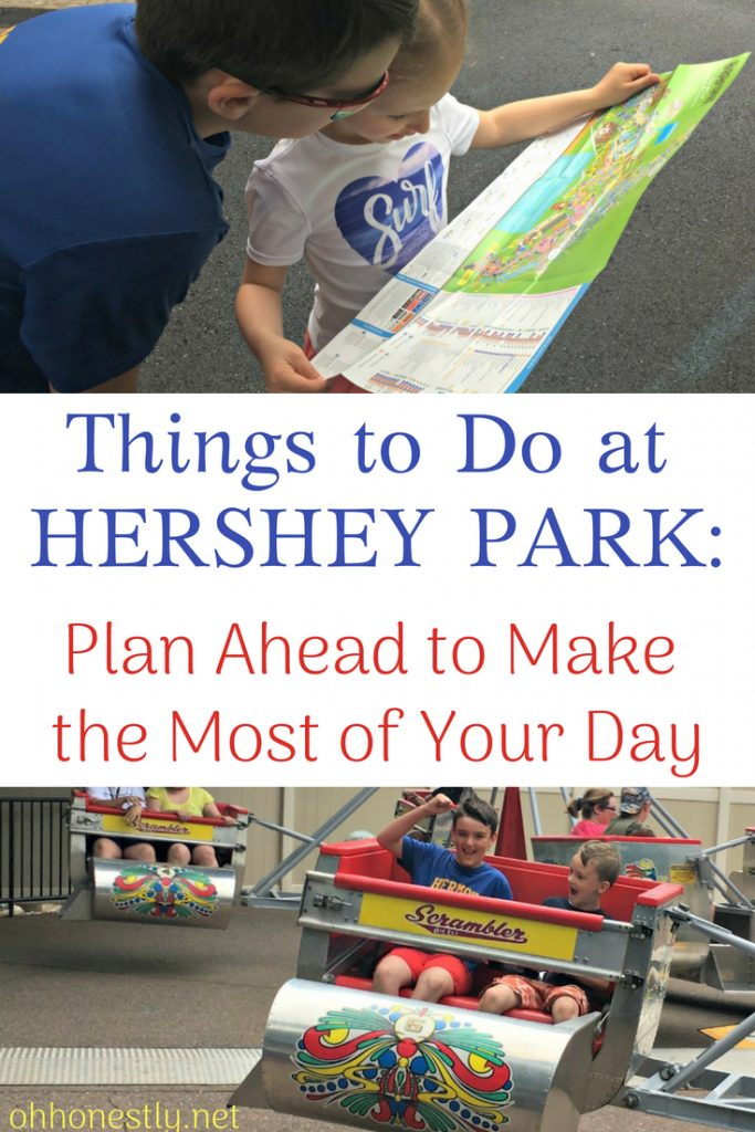 Not sure of all the things to do at Hershey Park or what you should do while you're on vacation there? This post gives you a complete overview, from rides to shows to games to food and everything in between. Plan ahead to make the most of your day at the famous theme park.