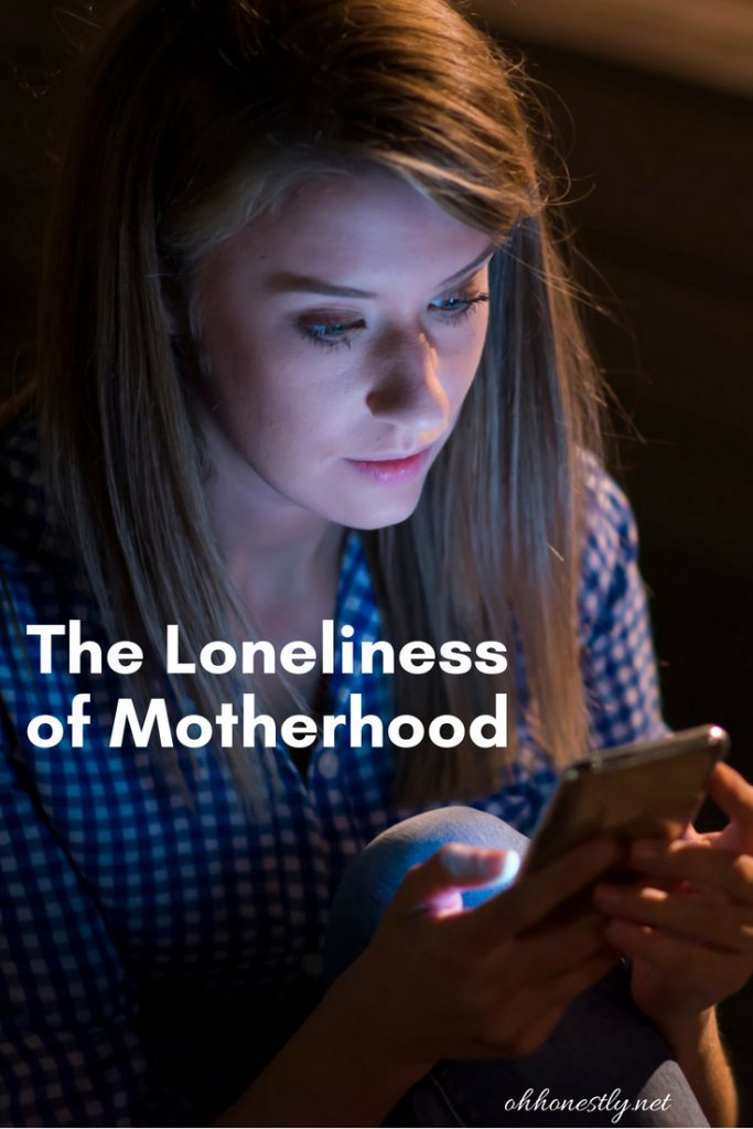 Motherhood can be lonely when you're an introvert and you haven't found your people.