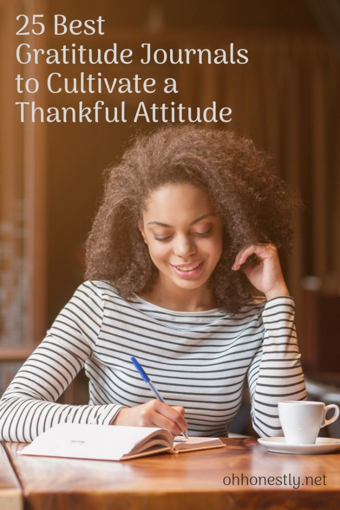 25 of the best gratitude journals, whether you need one for yourself, a husband, wife, kid, or teen. Cultivate a thankful attitude with the best gratitude journals and reap the benefits.