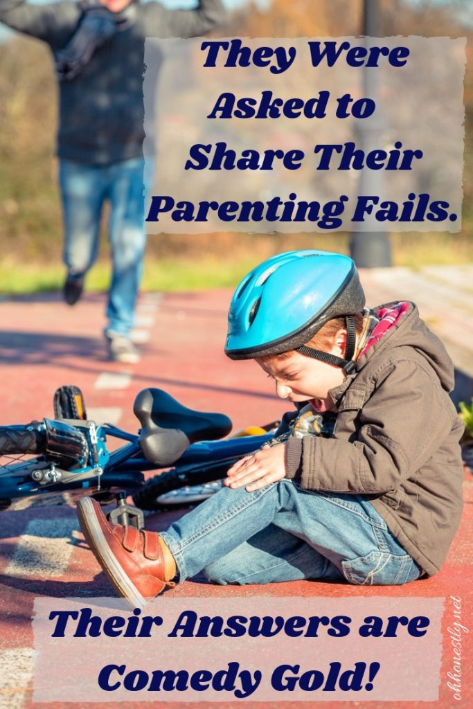 Sometimes your protective instinct gets trampled by self-preservation. These parenting fails are comedy gold.