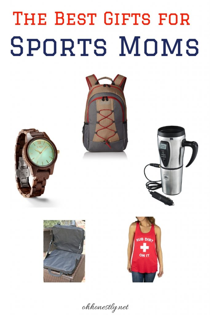 These gifts for sports moms are the perfect presents for any sport and any holiday!